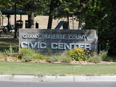 Civic Center Sign