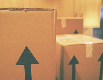 Boxes with arrows pointing up