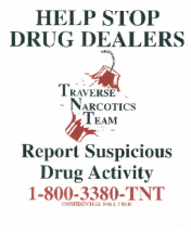 Report Suspicious Drug Activity 800-338-0868