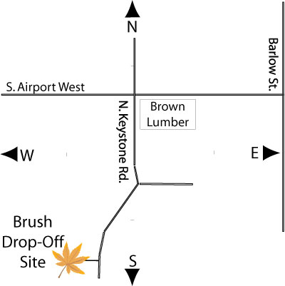 Brush Site Map
