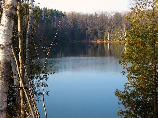 Twin Lakes in the Fall