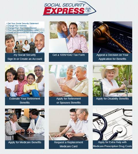 Social Security Express Full Service
