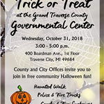 Flyer - Halloween at the Governmental Center 2018